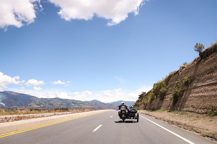 Sur les routes Équatoriennes