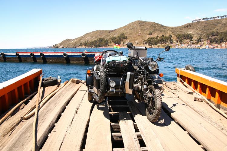 Sur les routes Boliviennes