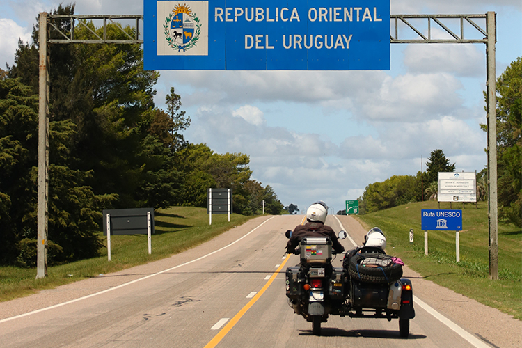On the Uruguayan borders