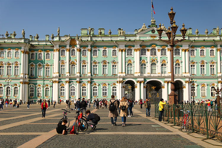 Saint Petersburg – 3 days – 3 metres above sea level