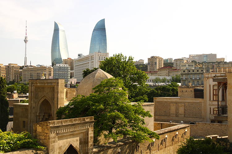 Baku – 3 days – Minus 23 metres above sea level